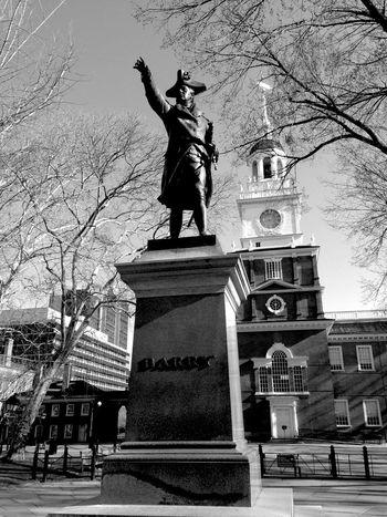 USA Independence Hall Philadelphia Philly History Blackandwhite Tadaa Community
