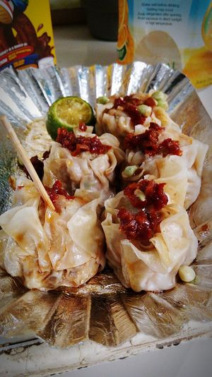 pork siomai foods😊😊 #calamondin #streetfood #delicious #filipinofood