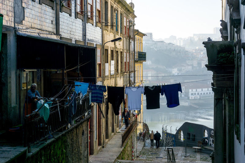 Architecture Clothes Day Dry Clothes House No People Old Buildings Old Town Outdoors Sea Sky Water
