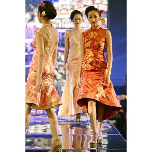 Romanceinspring talent @lanifr Appmi Fashionshow Catwalk Runaway by @wijaya_melia Fashion Pfw Grandcity Models Cny Asian  Chinese Qibao