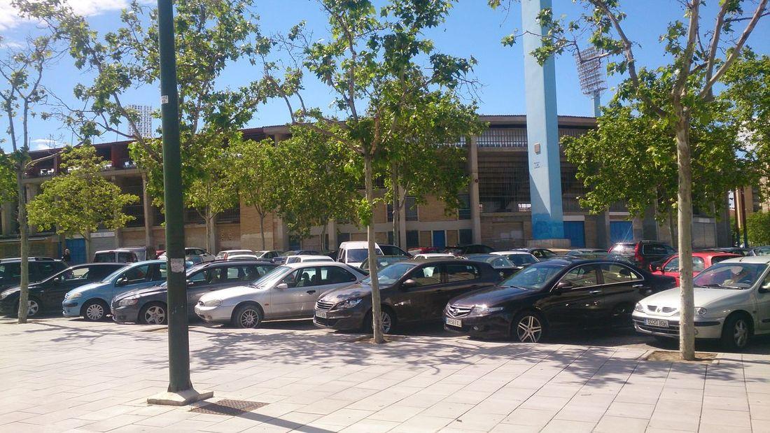 El Estadio Municipal de la Romareda donde juega mi querido Real Zaragoza