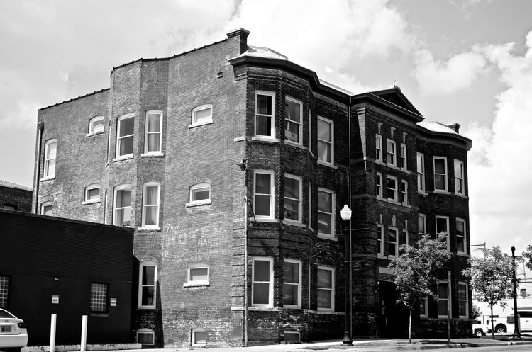Architecture B&w B&w Buildings B&w Street Photography Brick Building Exterior No People Old Building