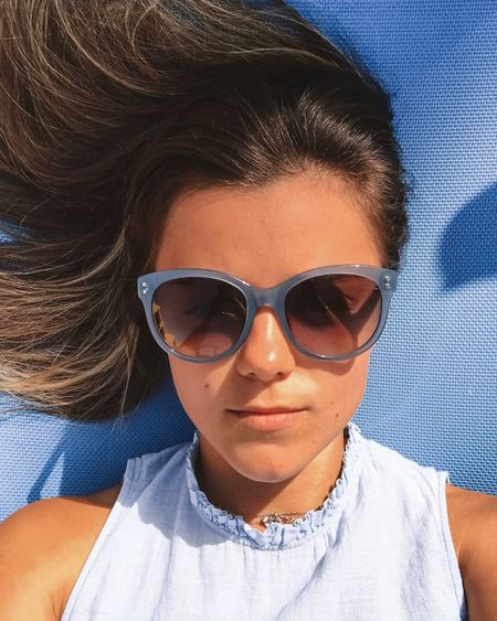 Sunglasses Glasses Portrait Fashion Headshot Leisure Activity Real People Looking At Camera Young Adult Lifestyles Front View One Person Mid Adult Young Women Protection Close-up Adult Day Security Outdoors