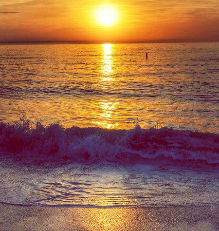 Sunset Nature Sky Reflection