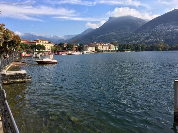 Lago Lugano Lago Di Lugano