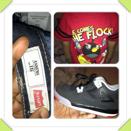 #AngryBirds #Levis #4's !!