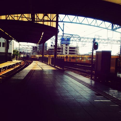 Train Station Hello World