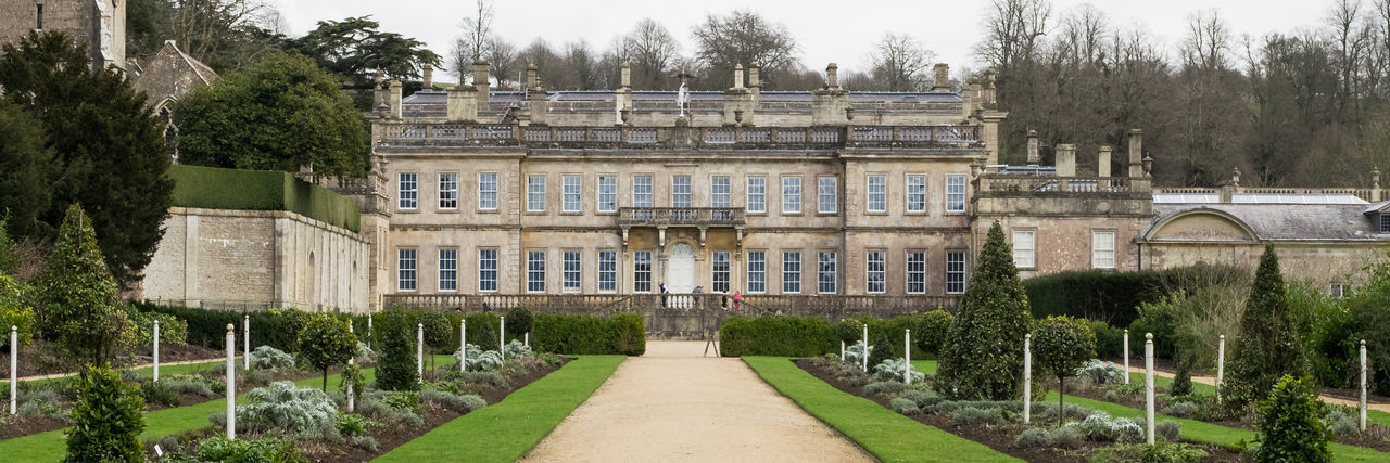 Love a 3:1 crop! Architecture Building Exterior Built Structure Day Dyrham Park Grass History Nature No People Outdoors Plant Travel Destinations Tree