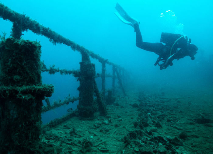Eurobulker is on of the largest shipwrecks located in Chalkida, Central Greece DivinginGreece Eurobulker Wreck Wreckdiving Adventure Exploration Scuba Diver Scuba Diving Sunken Underwater First Eyeem Photo