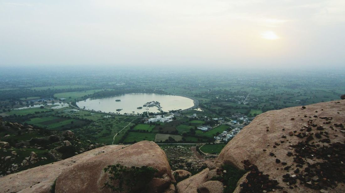 Idar fort, rock, lake, sunrise, cloud, amazing view Landscape Aerial View Sky City Day Nature Greenery💛 Nature Travel Destinations Mountain Forest Outdoors Road Vacations Rock Cloud Fog Cloud - Sky First Eyeem Photo Outingwithfriends Business Finance And Industry Agriculture Industry No People Tree