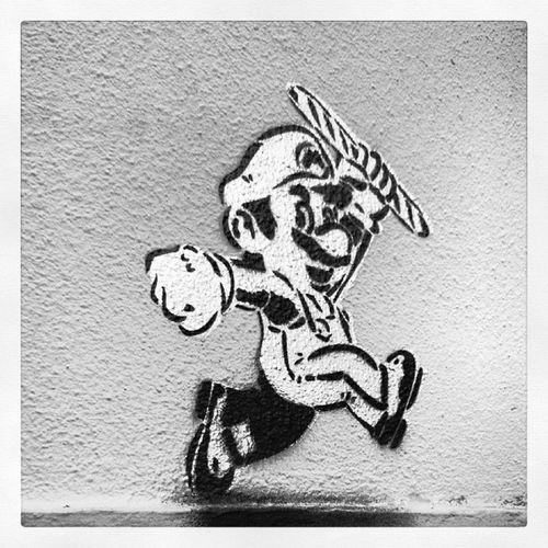 Mario Igersparis Streetart Grafitti games