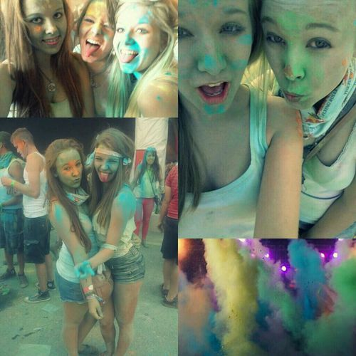 Holi Festival IN GRAZ We Are So Cool It Was Amazing ♥♥
