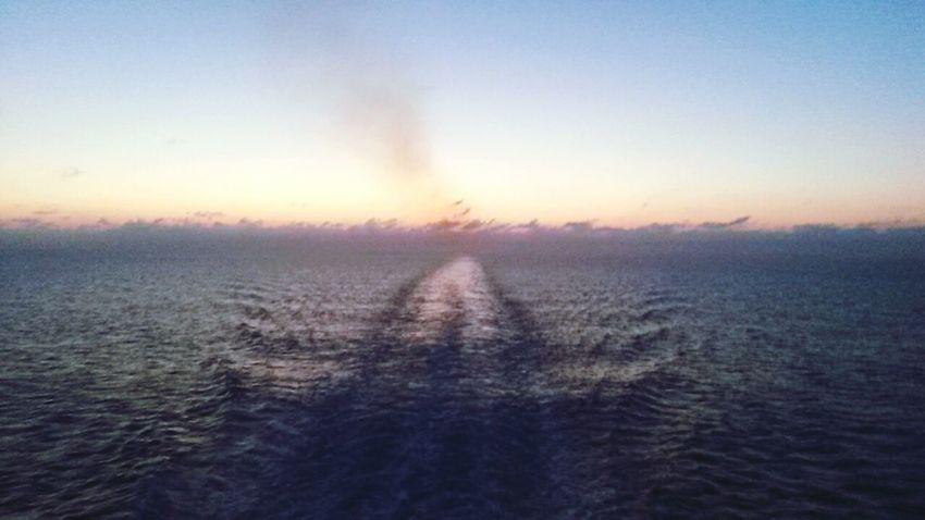 Sun is art Barcelona SPAIN Sunrisephotography Nature Photography Ship At Sea