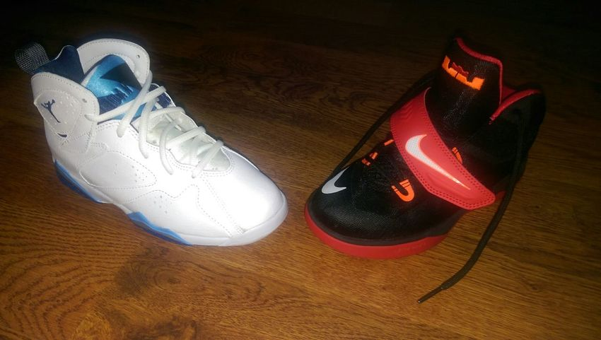 Jordans On My Feet  Lebron James I spoil my kids... Dipped  Shoe Game Fresh I Love My Kids