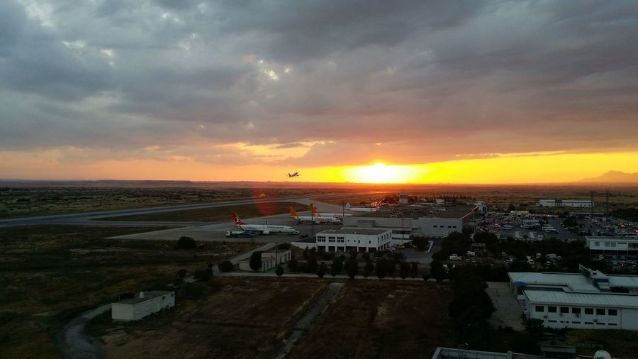 Aeroplane Aviation Cloud - Sky Departure Flight Landscape Nature Sky Storm Cloud Sunset Travel Destinations