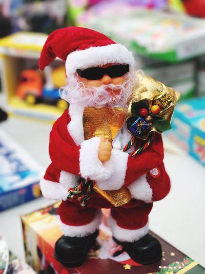 Celebration Focus On Foreground Indoors  Christmas Tradition Stuffed Toy Figurine  No People Clown Close-up Monkey Day מייתרשיחא מייאייפון7 מייחגים Santa
