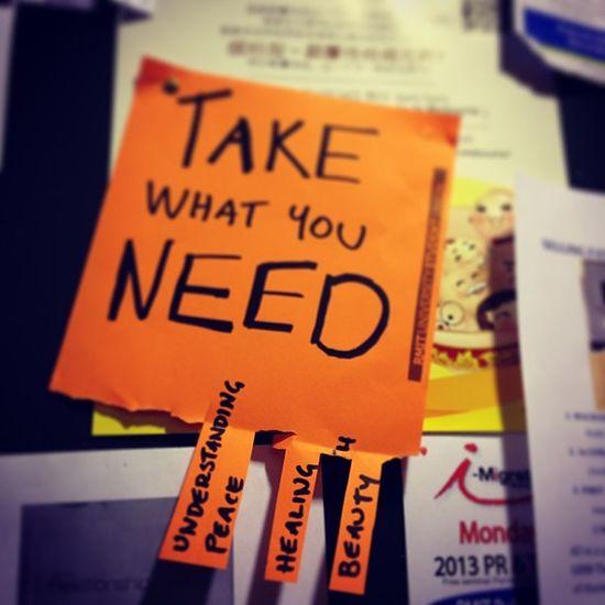 Take what you need! #rmitgetstarted Rmitgetstarted
