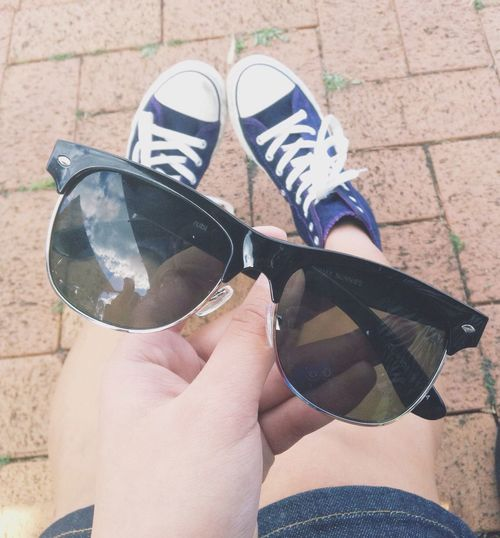 le sunnies featuring le shoes ??? Sunnies Shoes Photography