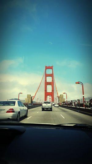 San Francisco Bay Bridge Transportation Car Bridge - Man Made Structure Suspension Bridge Architecture Mode Of Transport Famous Place Travel Destinations Travel Tourism Sky Cable-stayed Bridge Outdoors Trip Engineering