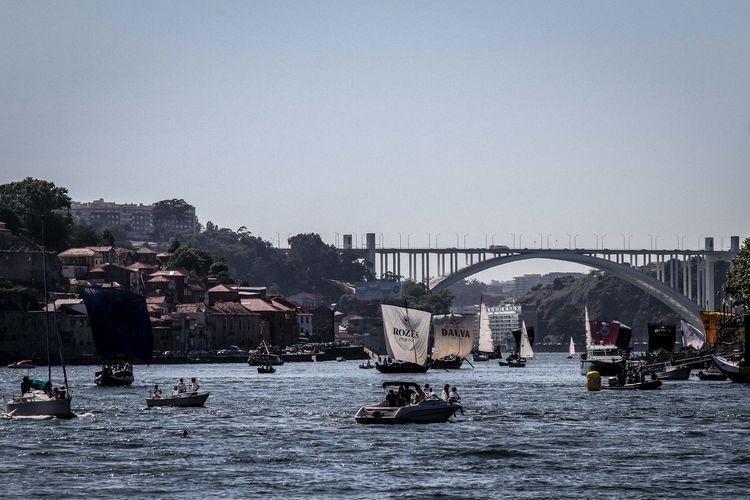 Tourist Enjoying Boat Ride In River