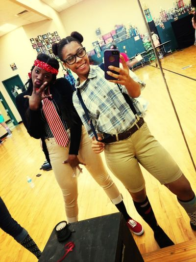 Me And Big Sis As Nerds