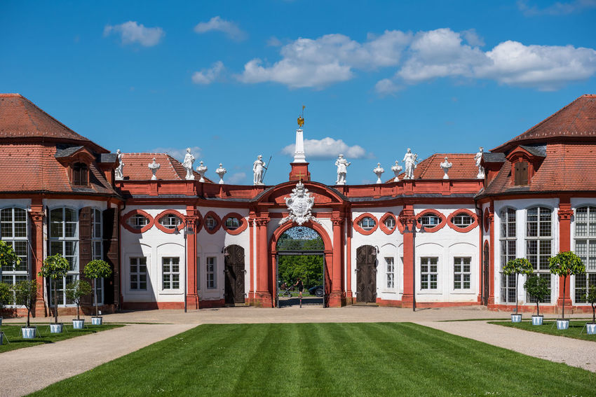 Schloss Seehof in Memmelsdorf Architecture Bamberg  Bavaria Bayern Castle Deutschland Franconia Franken Germany Memmelsdorf Palace Schloss Seehof Seehof Palace Seehof Schloss