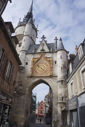 Auxerre Clock Tower