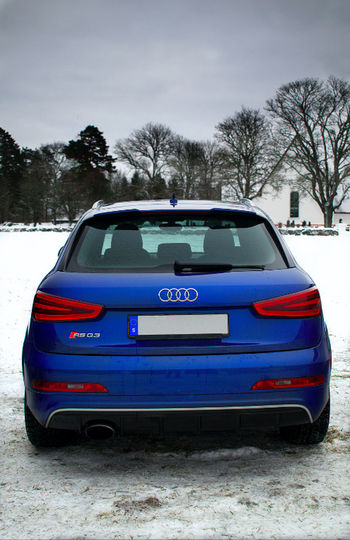 A nice winter car a Audi RSQ3 Audi Carspotting FourRings Quattro RSQ3 SUV Sweden Blue Blur Car Day Fast Land Vehicle Mode Of Transport Nature No People Outdoors Photography Rs Sky Snow Sportssuv Transportation Tree Winter