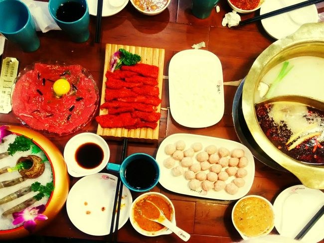 Chafing Dish Snowing