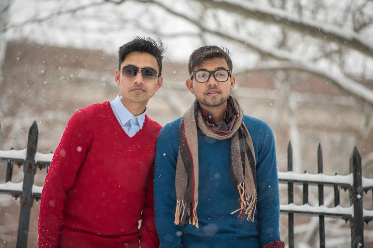 Brother Cold Temperature Couple - Relationship Ezaz Hossain Fashion Handsome Junayt Hossain Lifestyles Looking At Camera Men New York Nikon D3200 Only Men Ozone Falls Portrait Sagrey The Bes Sagrey Turjo Sagrey Turjo Photograph Streetphotography Two People Waist Up Winter Young Adult Young Men Young People
