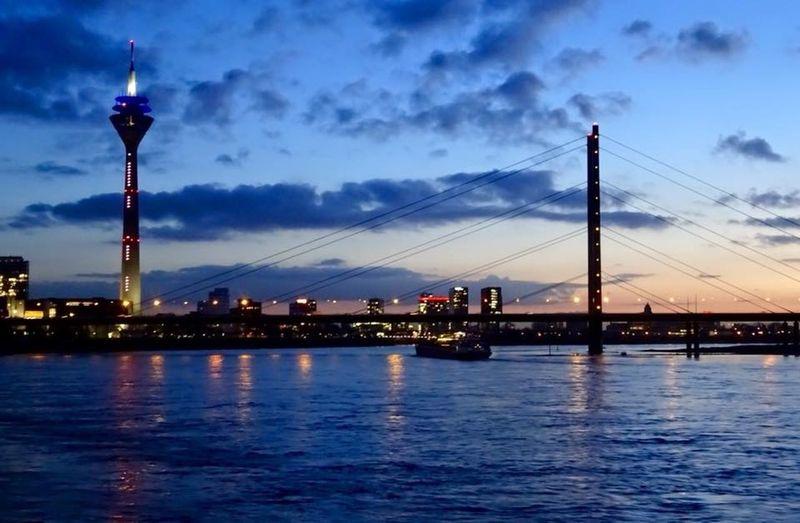 Sunset at the Rhein Courtesy of Dr. Bashar Assassa