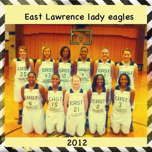East Lawrence Lady Eagles 2012