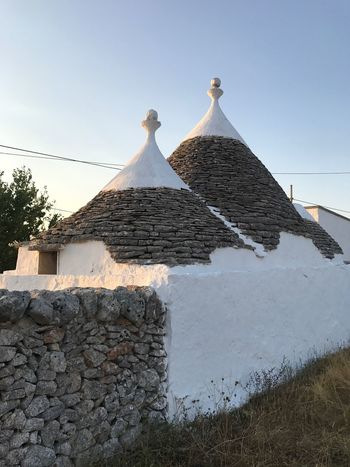 No People Architecture Day Built Structure Outdoors Building Exterior Nature Sky Trulli Trulli Houses Trullilovers Eye4photography  Puglia Puglia South Italy Farm