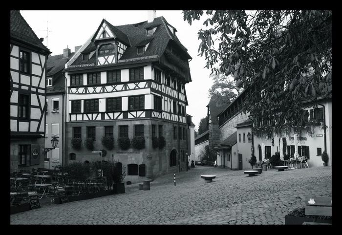 Albrecht Dürer's House in Nürnberg Architecture Architecture_bw Black And White