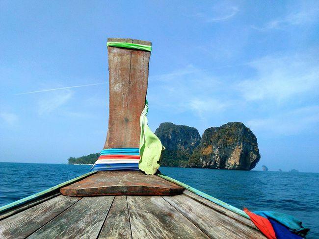 Water Wood - Material Sea Thailand Krabi Island Kophiphi Poda Island Longtailboat Colores Canoa Barcas Tailandia Isle Mar Isla Paradise Tropical Holidays Honeymoon