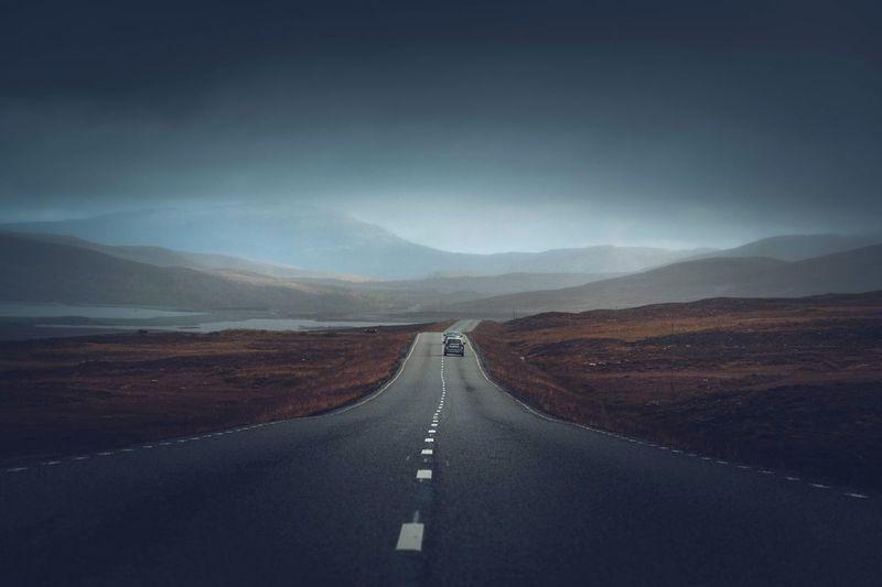 Scenery, road