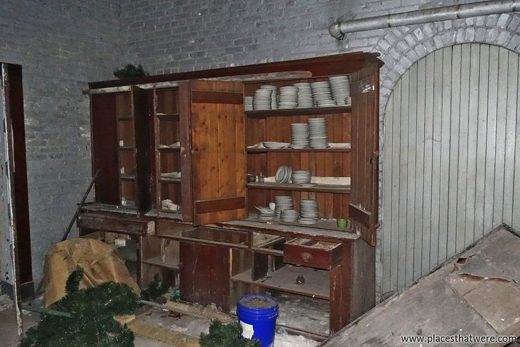 View of wooden room