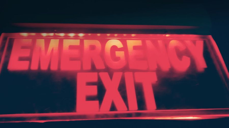 Sometime u need to find Emergency Exit Fromyourlife
