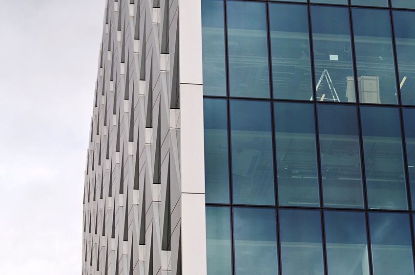 Office Building The Architect - 2017 EyeEm Awards Architecture Built Structure Building Exterior Window Day Modern Low Angle View No People Sky Outdoors Office Building Copy Space Minimalism Minimalist Architecture Modern Building Eye4photography  Architecture Architectural Feature Modern Architecture EyeEm Best Shots Buildings & Sky EyeEm Gallery EyeEm Masterclass Architecture_collection