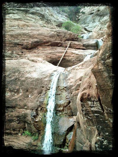 Sandstone Waterfalls