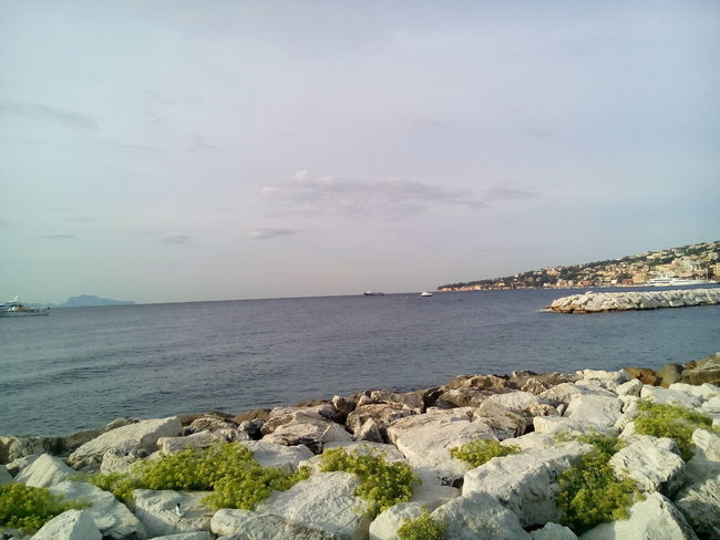 Beauty In Nature Lungomare Naples Scogli Sea