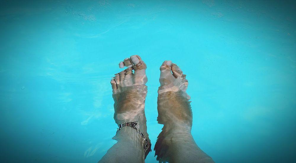 EyeEmNewHere EyeEm Best Shots EyeEmBestPics Hello World EyeEm Gallery Low Section Water Swimming Pool Blue Human Leg Personal Perspective Close-up Toe Feet Underwater The Still Life Photographer - 2018 EyeEm Awards