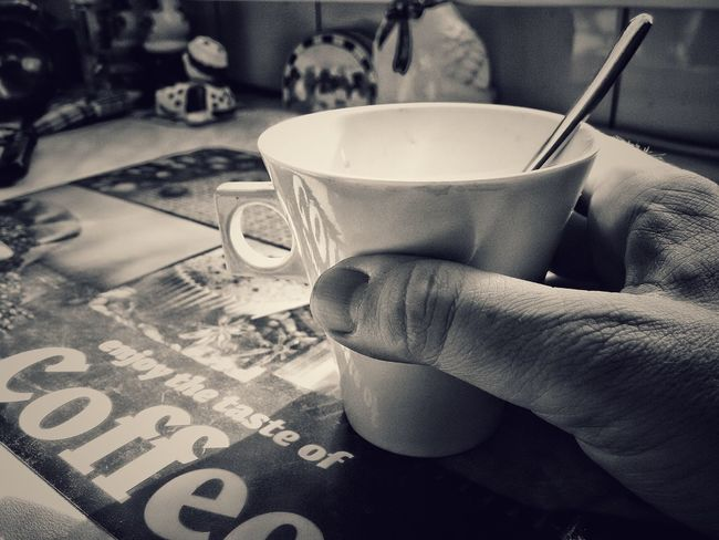 Coffe Coffemug Mug Morning Coffee Time Coffee Cup Monochrome Photography