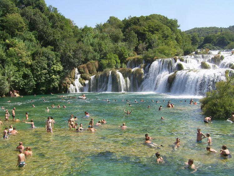 Hanging Out Taking Photos Check This Out Hello World Enjoying Life Waterfall Croatia Krka Summer Colors Beach