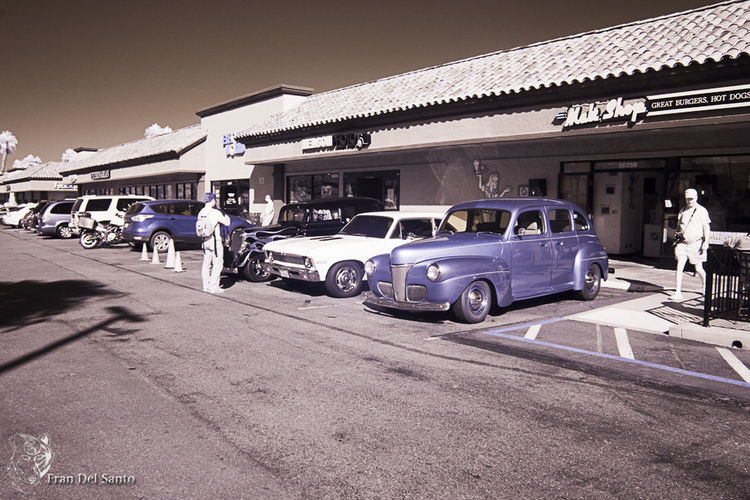 The color you see is correct this is infared color shot infared collection parking lot of old cars people walking around Car Transportation Mode Of Transport People Outdoors Sunlight Infrared Photography Straight From The Camera Just Shooting Around!! Practicing Photography Straight From The Camera Practice Infared Collection Cars Old Old Cars Old Vintage Cars Vintage Cars
