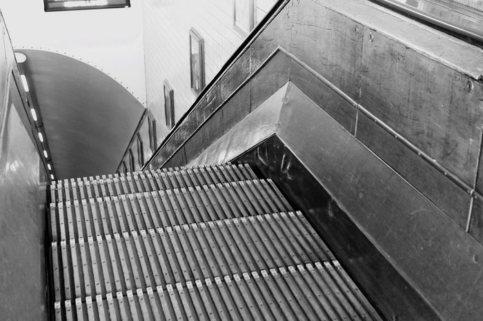 Steps Steps And Staircases Indoors  Railing Staircase High Angle View Architecture Modern Hand Rail Stairs The Way Forward Subway Station Outside No People Diminishing Perspective Going Down Old Stairways Déco Indoor Design Indoor Photography Wooden Stairs Wooden Steps Black & White Black And White