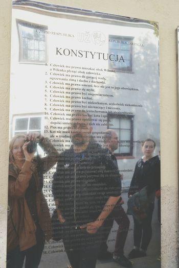 Uzupis Constitution Vilnius Travel