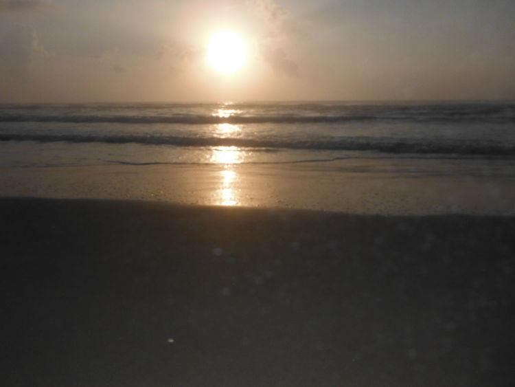 Sun Rise over the beach