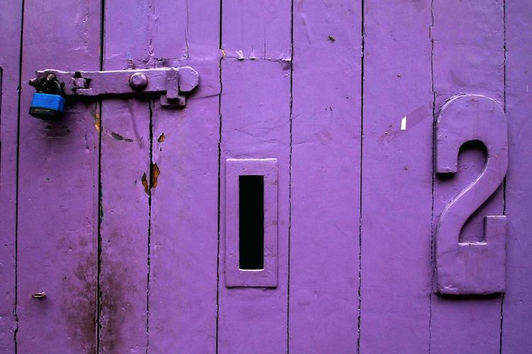London Wood Purple Madera Lila