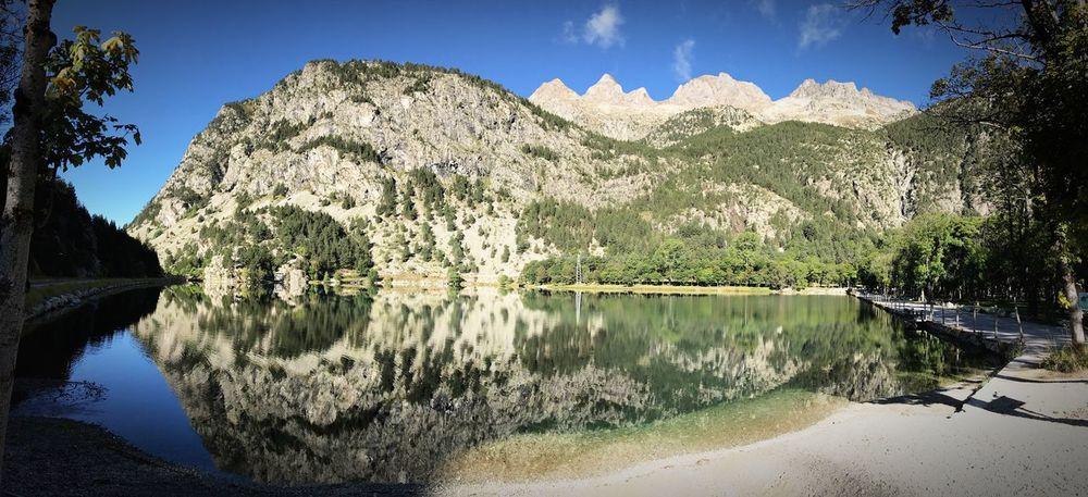 Mountain Beauty In Nature Reflection Lake Idyllic Panticosa